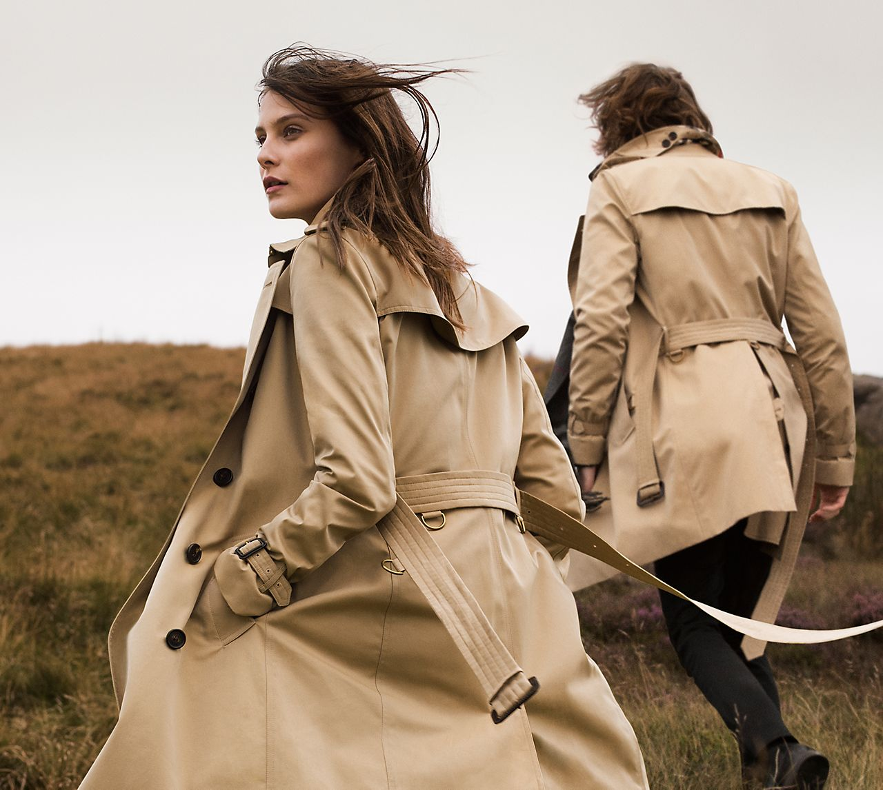 The Heritage Trench Coat Now available to monogram