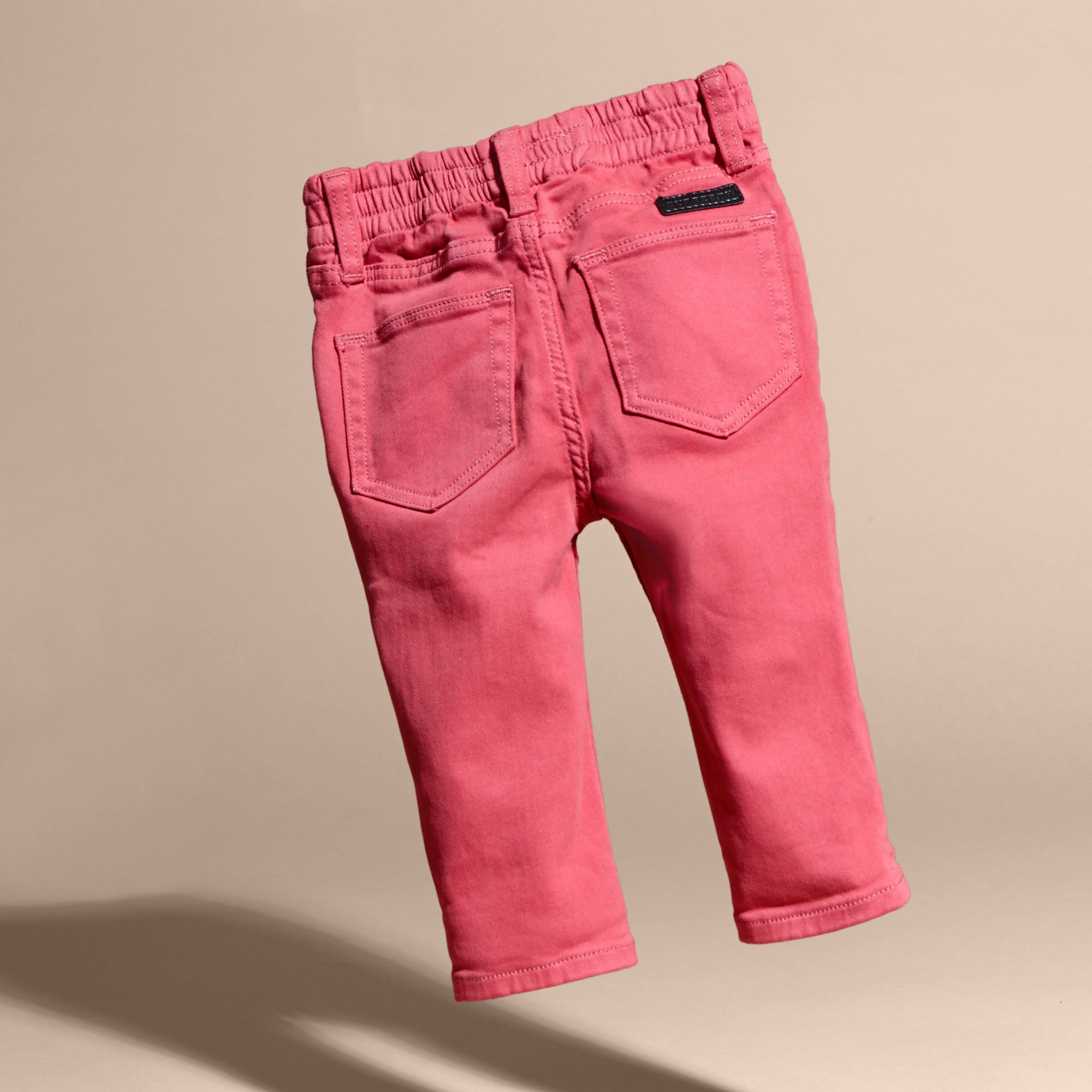 Stretch Cotton Blend Jeans - gallery image 4