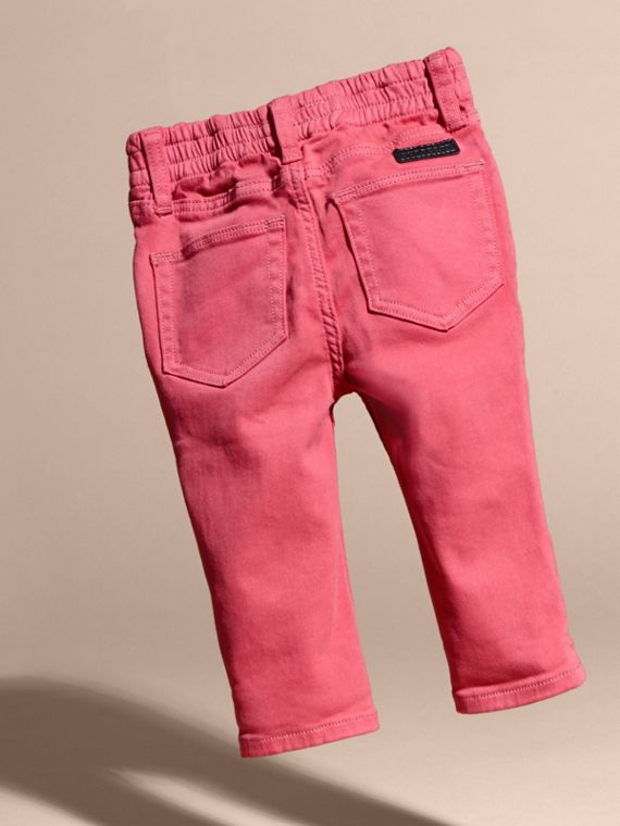 Stretch Cotton Blend Jeans - cell image 3