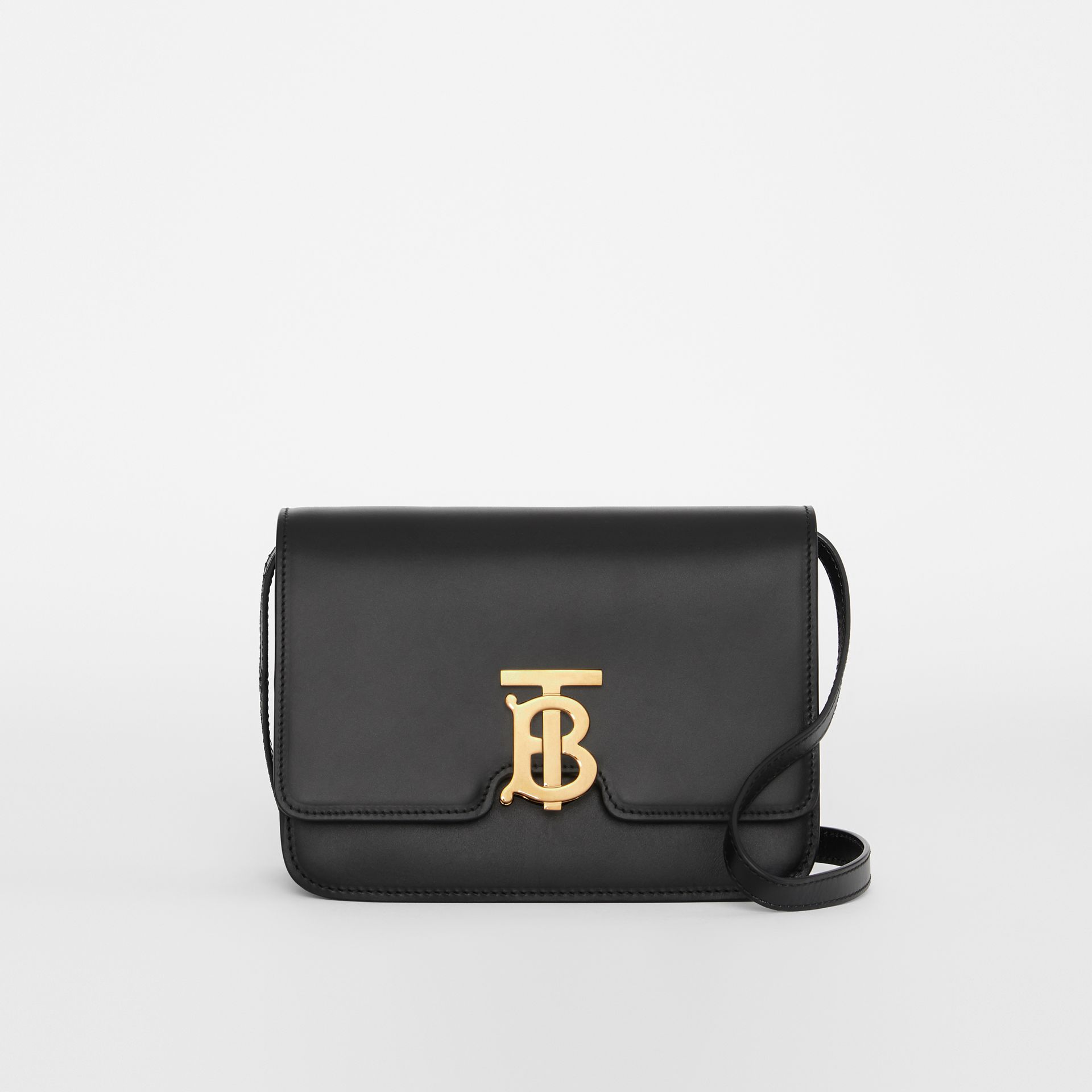 Small Leather TB Bag in Black - Women | Burberry Australia - gallery image 0