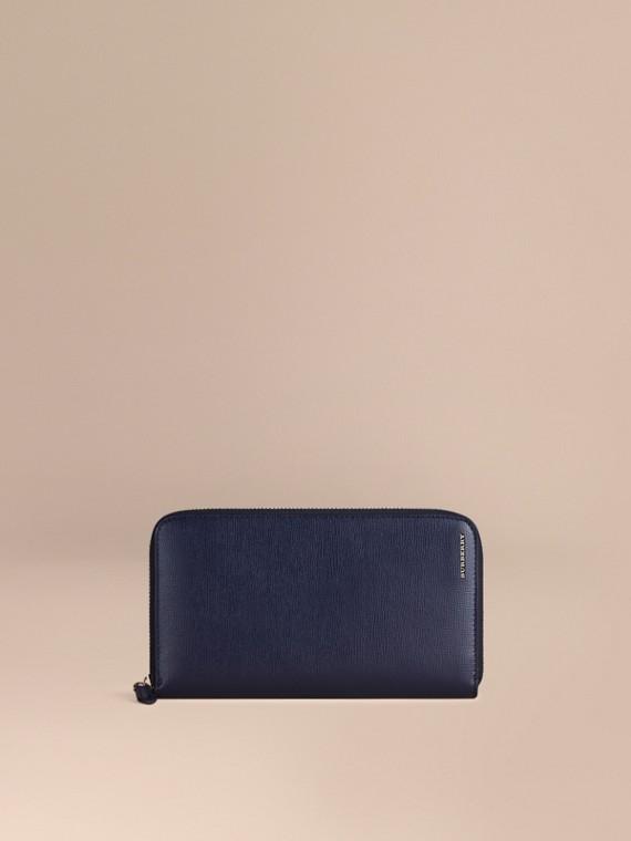 London Leather Ziparound Wallet