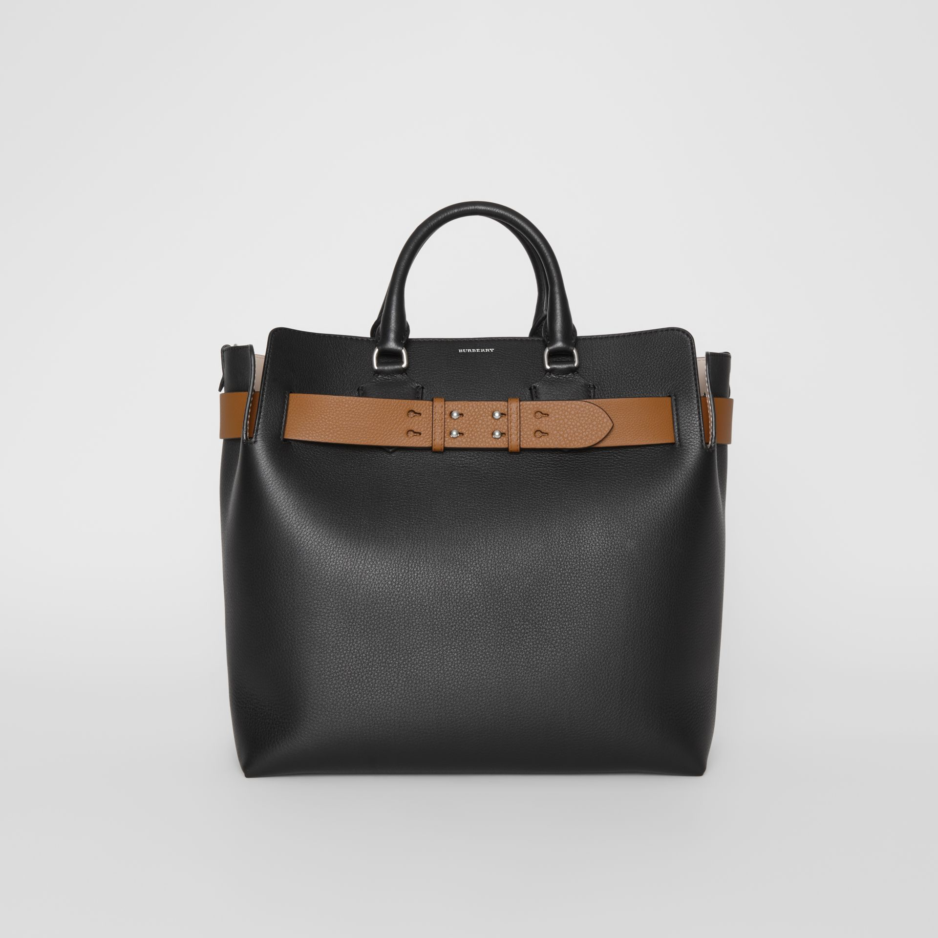 Burberry The Large Leather Belt Bag In Black. First seen in Oct 2018. 1 6 753b2a6997