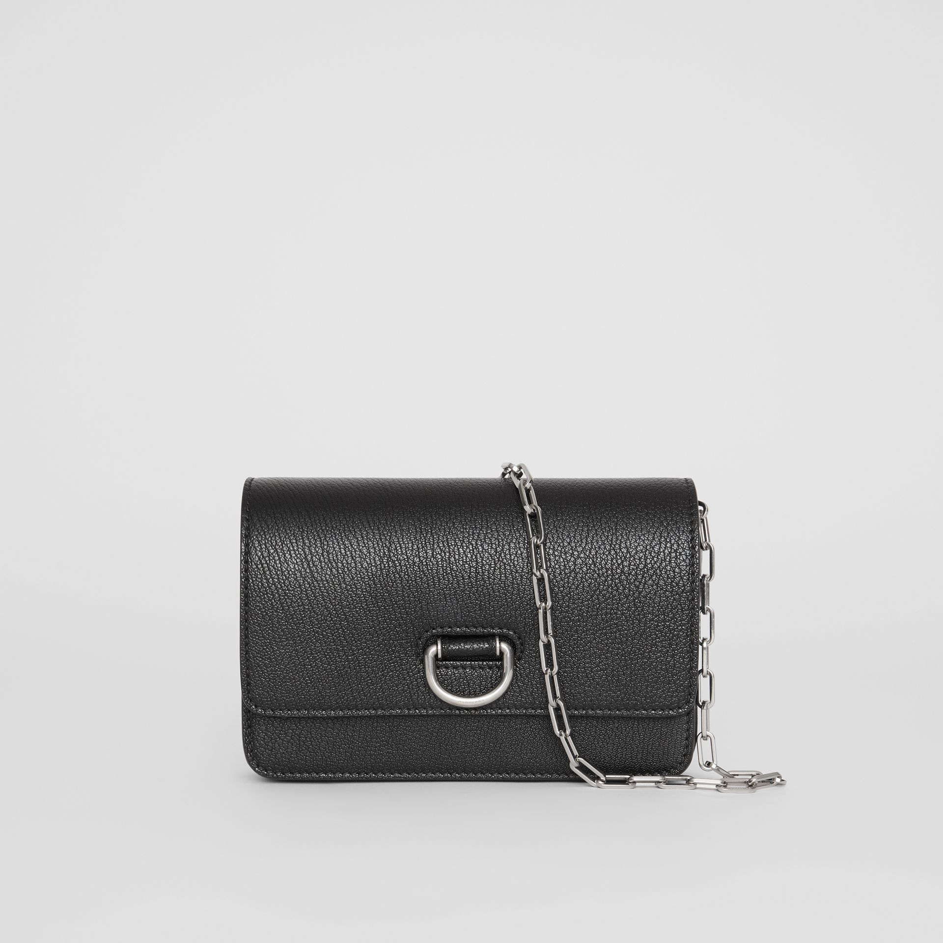 Mini sac The D-ring en cuir (Noir) - Femme | Burberry Canada - photo de la galerie 0
