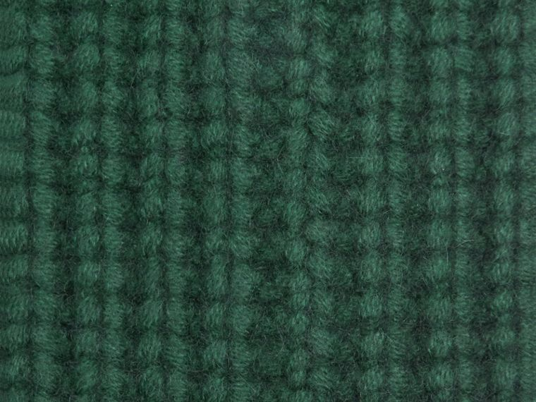 Forest green Knitted Cashmere Socks Forest Green - cell image 1