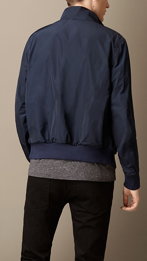 Ink Zip Front Packaway Blouson - Image 2