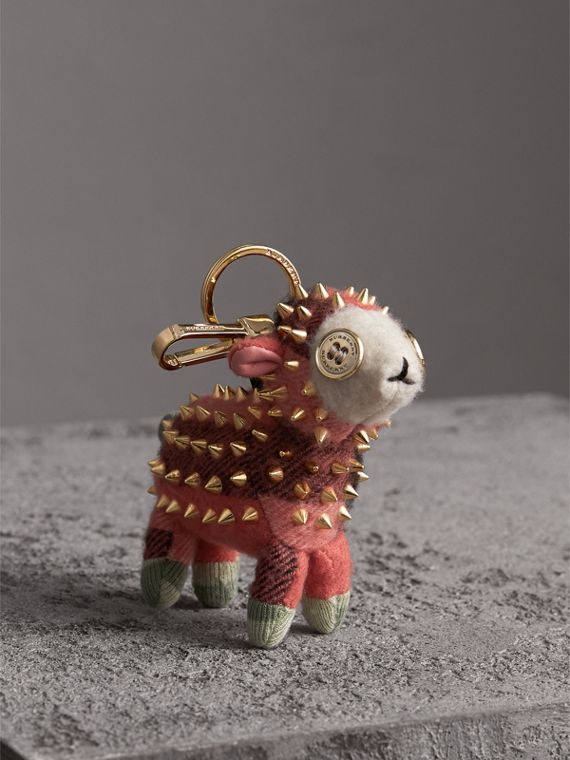 Adorno tipo llavero Wendy The Sheep en cachemir (Coral)