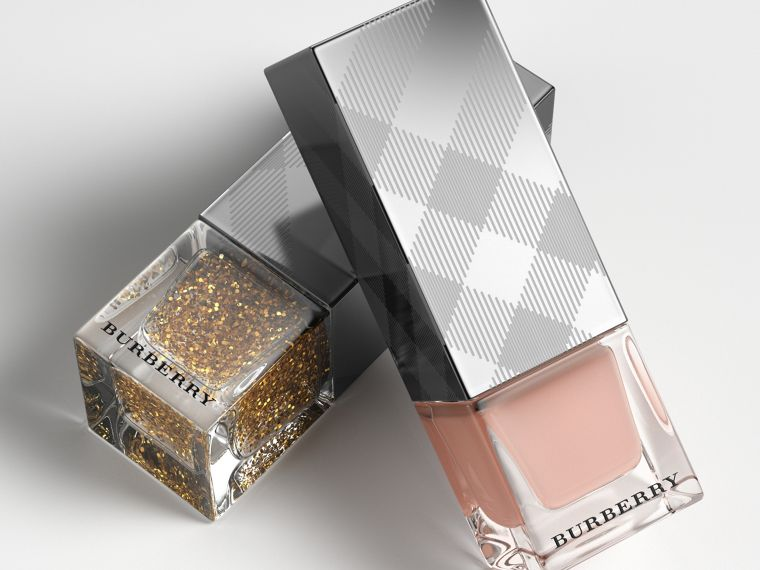 Nail Polish – Gold Glitter No.451 - Femme | Burberry - cell image 2