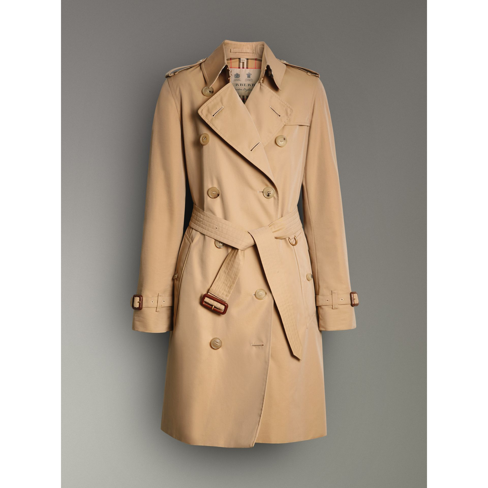 The Kensington – Trench Heritage (Miel) - Femme | Burberry - photo de la galerie 3