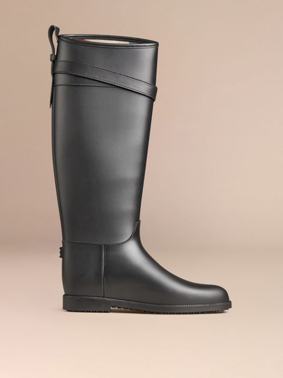 Belted Equestrian Rain Boots - cell image 2