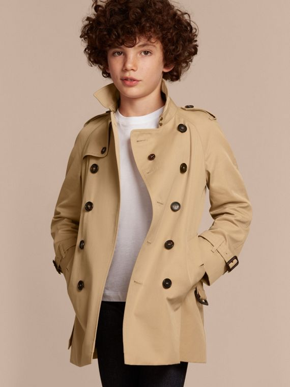 The Wiltshire – Heritage Trench Coat in Honey - cell image 2