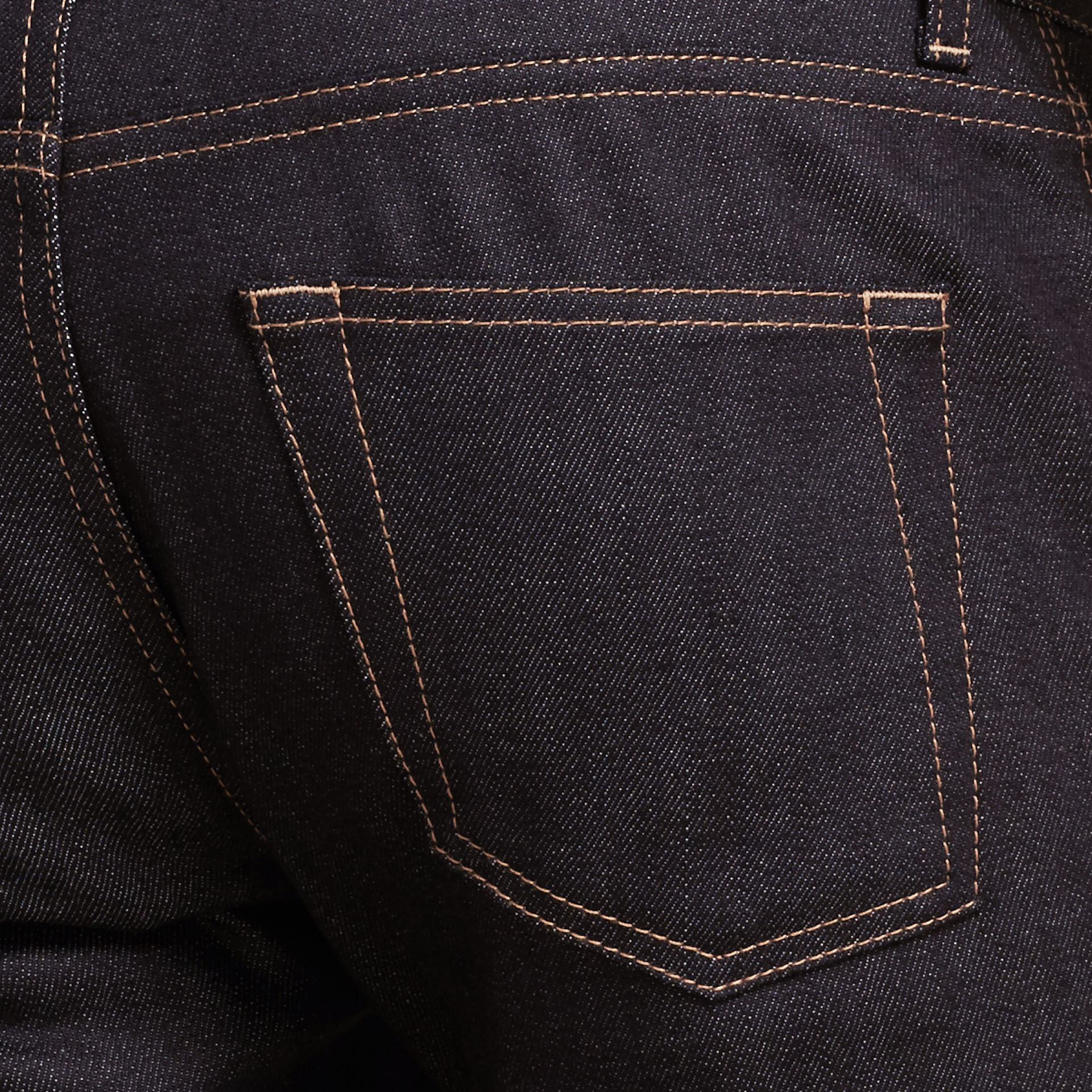 Indigo Slim Fit Japanese Denim Jeans Indigo - gallery image 2