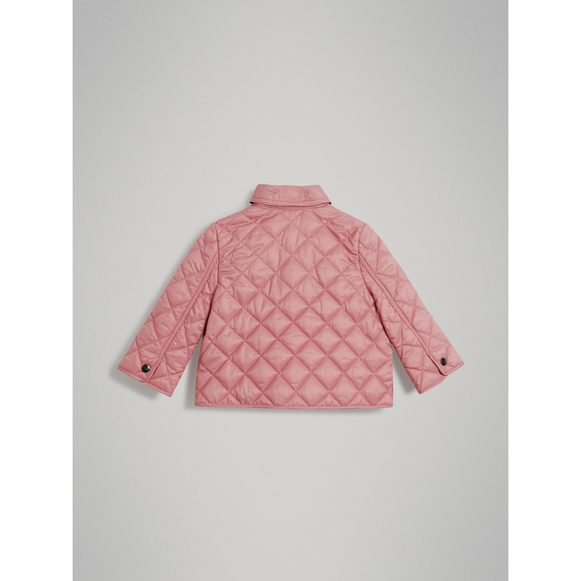 Lightweight Diamond Quilted Jacket in Pale Ash Rose - Children | Burberry Canada - gallery image 3