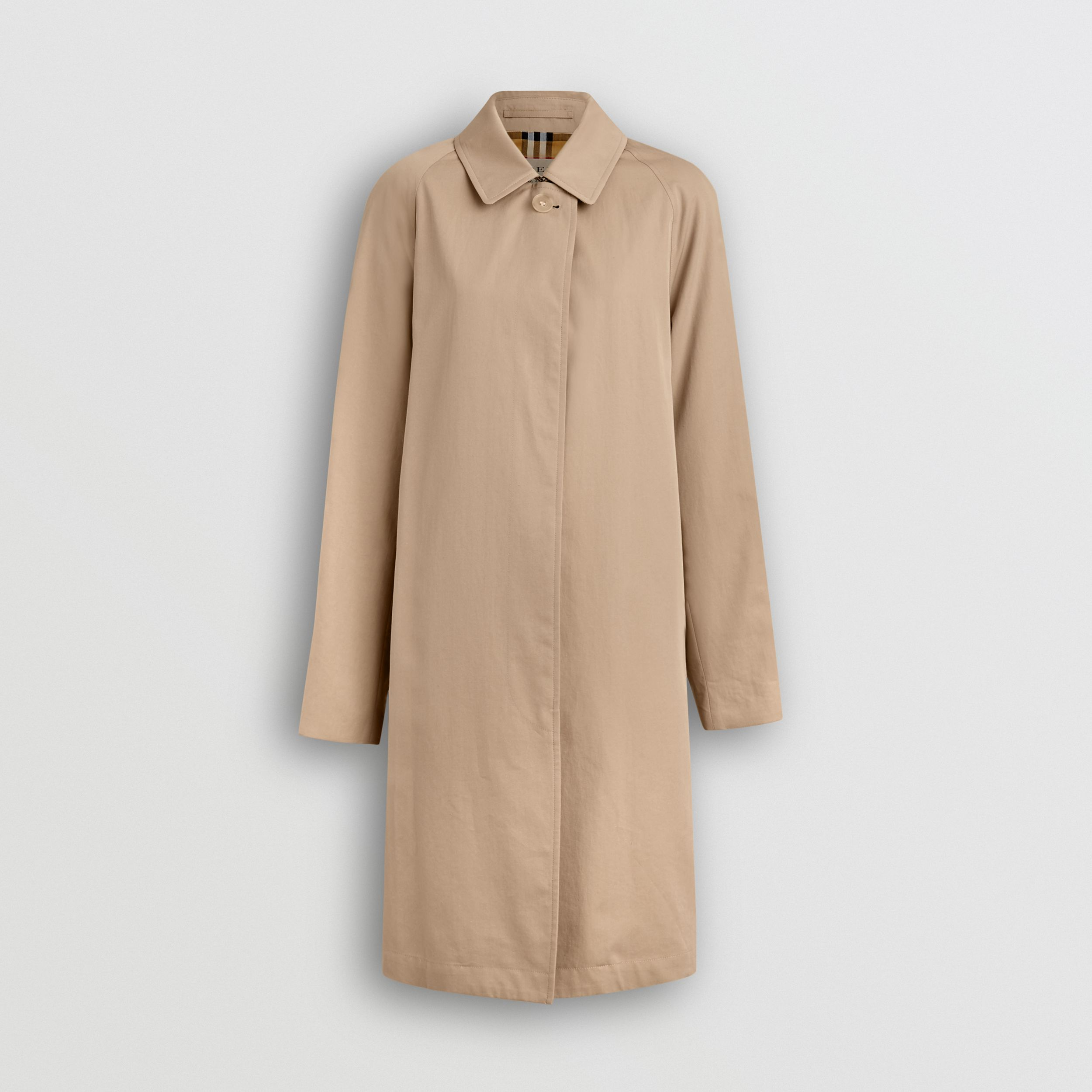 The Camden Car Coat in Honey | Burberry - 4
