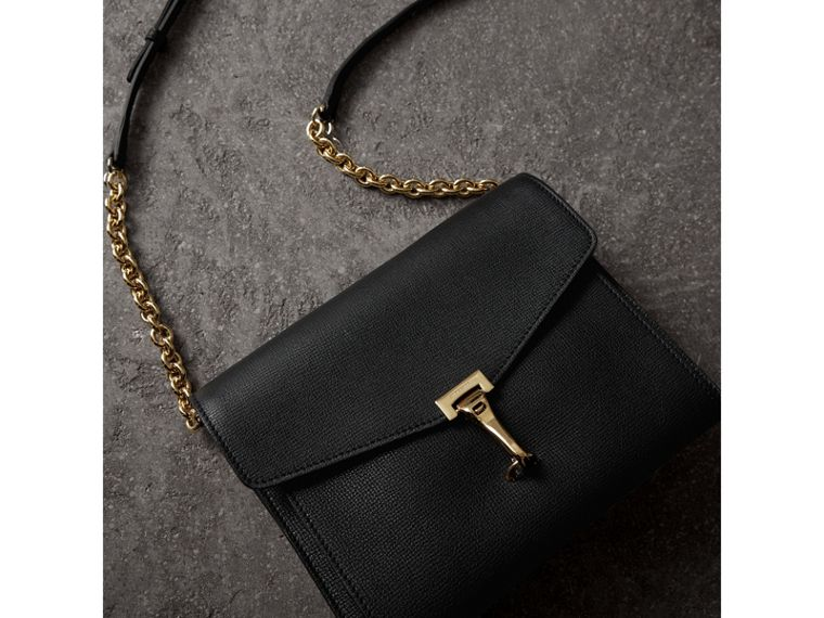 Small Leather Crossbody Bag in Black - Women | Burberry - cell image 4