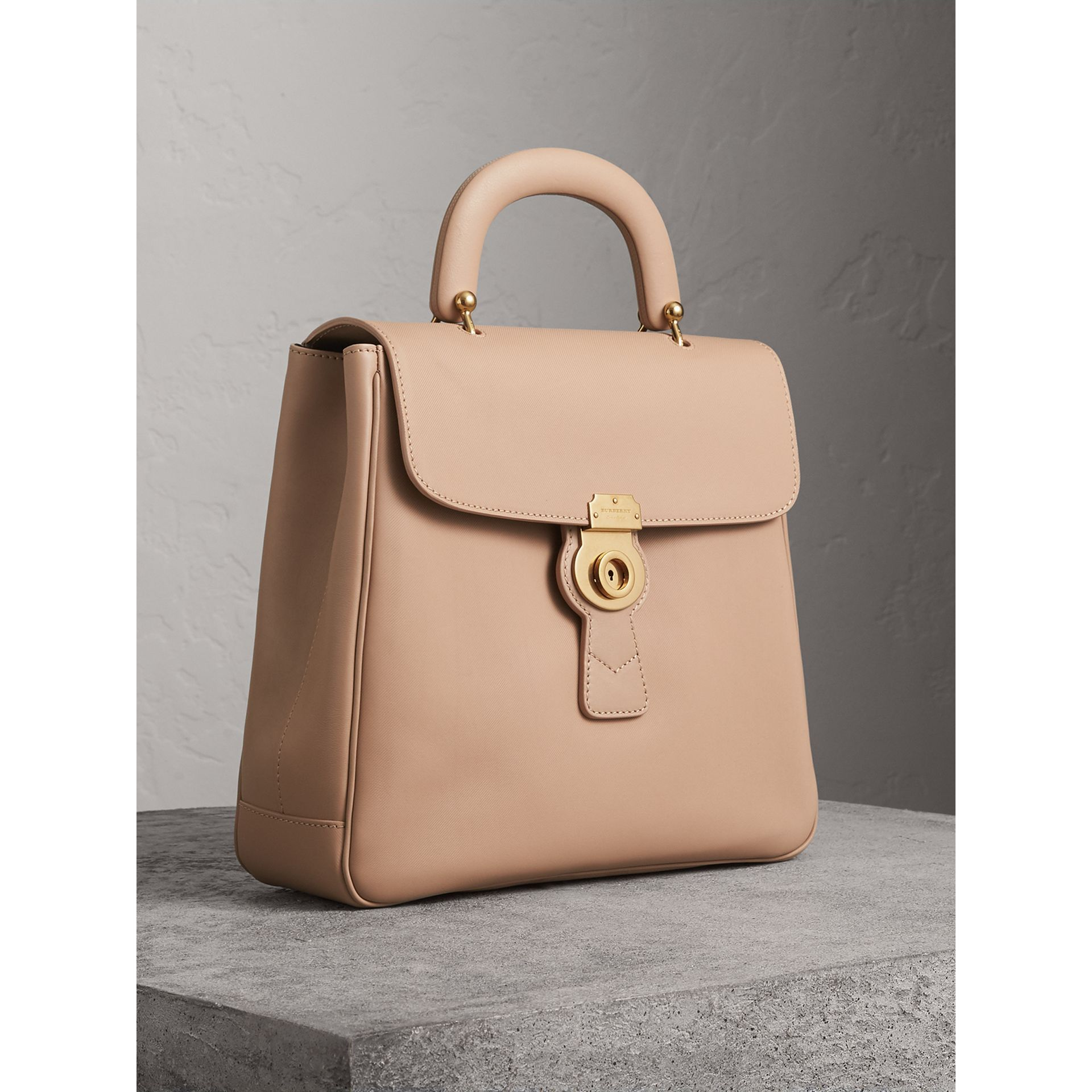 The Large DK88 Top Handle Bag in Honey - Women | Burberry - gallery image 8