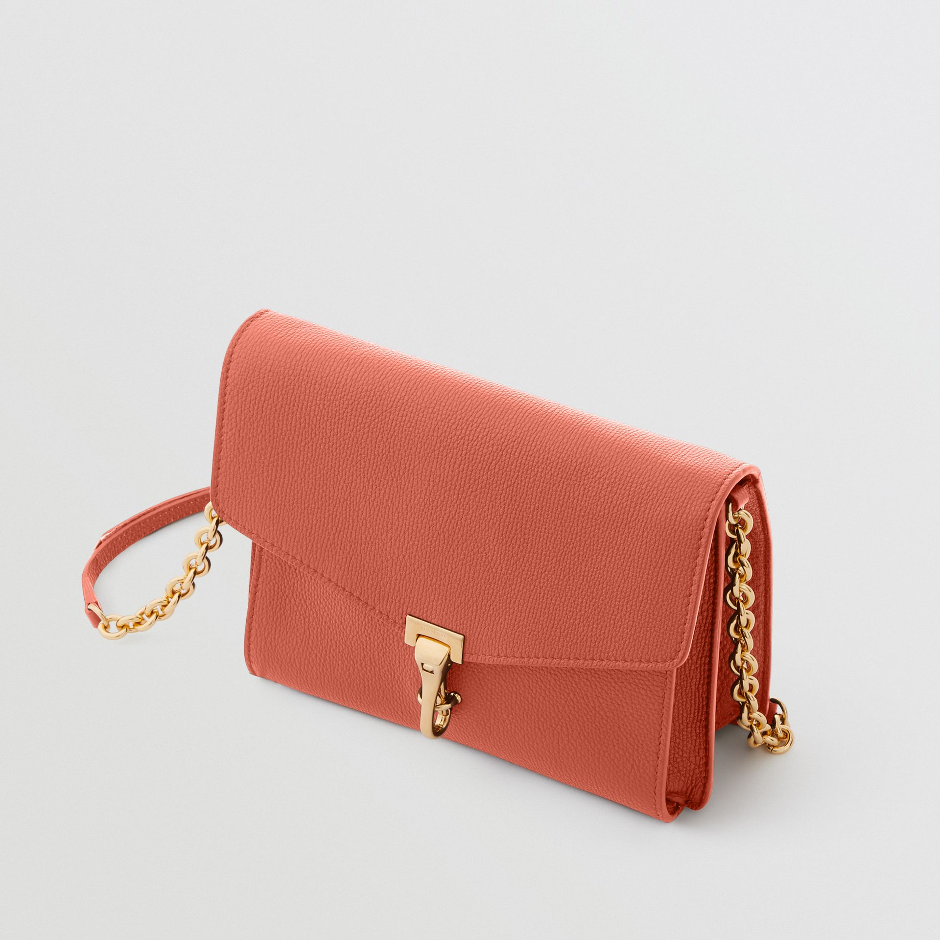 Small Leather Crossbody Bag in Cinnamon Red - Women | Burberry - gallery image 4