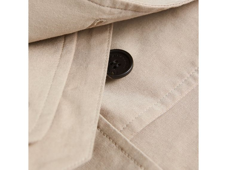 Tropical Gabardine Trench Jacket in Light Taupe | Burberry - cell image 1