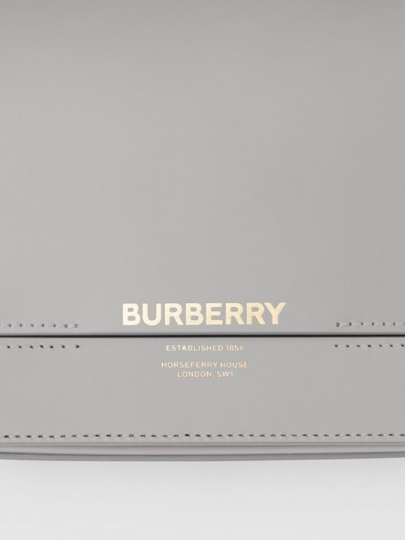 Small Two-tone Leather Grace Bag in Heather Grey/cloud Grey - Women | Burberry United Kingdom - cell image 1