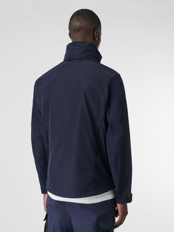 Packaway Hood Shape-memory Taffeta Jacket in Ink - Men | Burberry United States - cell image 2