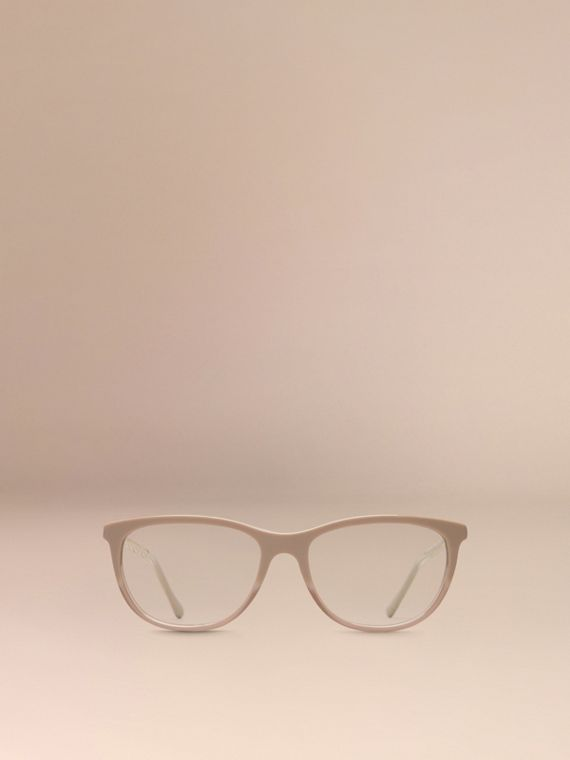Gabardine Collection Cat-Eye Optical Frames in Honey - cell image 2