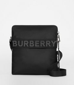 Logo Detail Crossbody Bag in Black abbd1ee7ba569