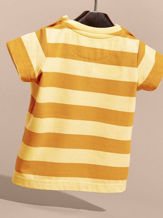 Striped Cotton T-shirt | Burberry - cell image 3