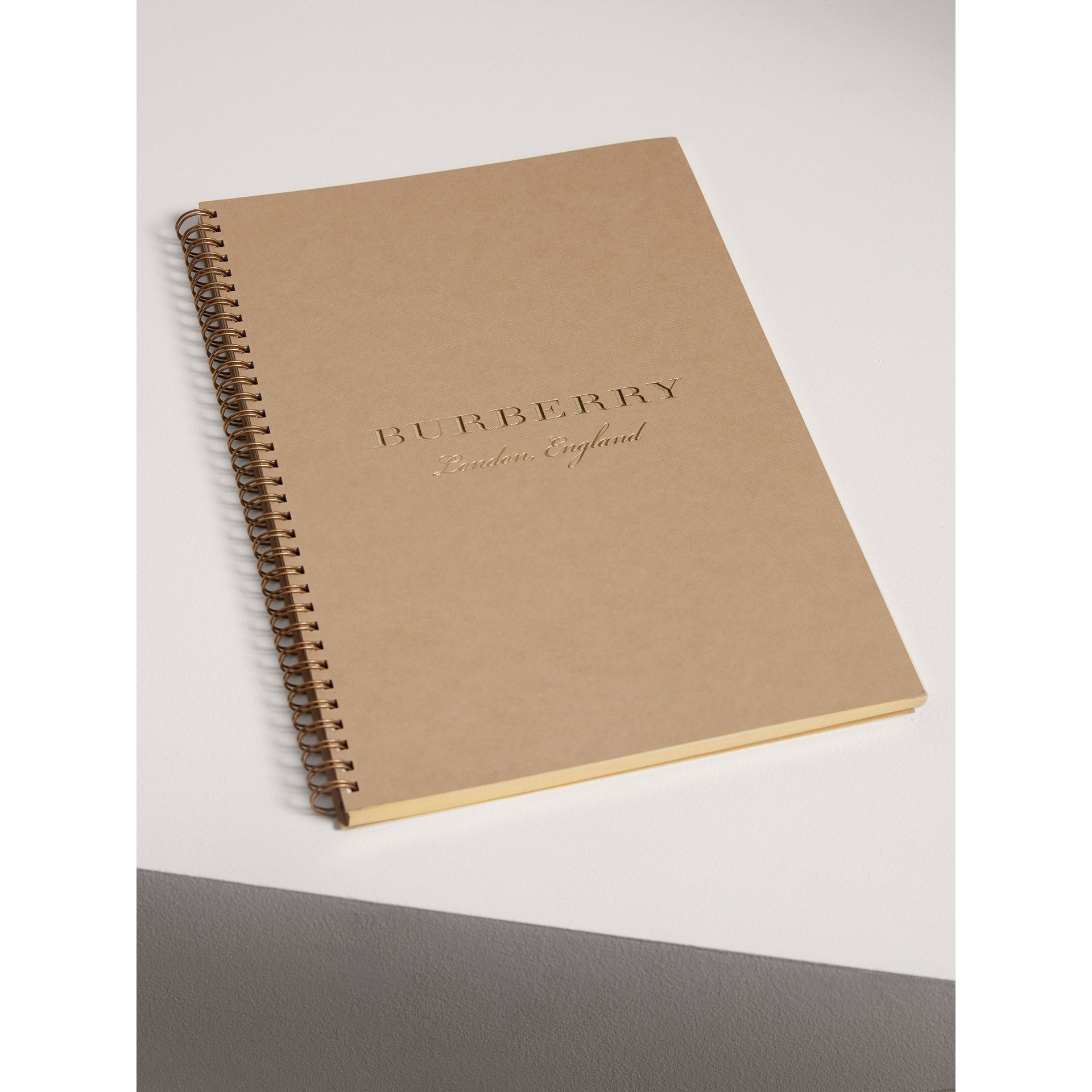 2018 A4 Diary Refill in Honey | Burberry United States - gallery image 2