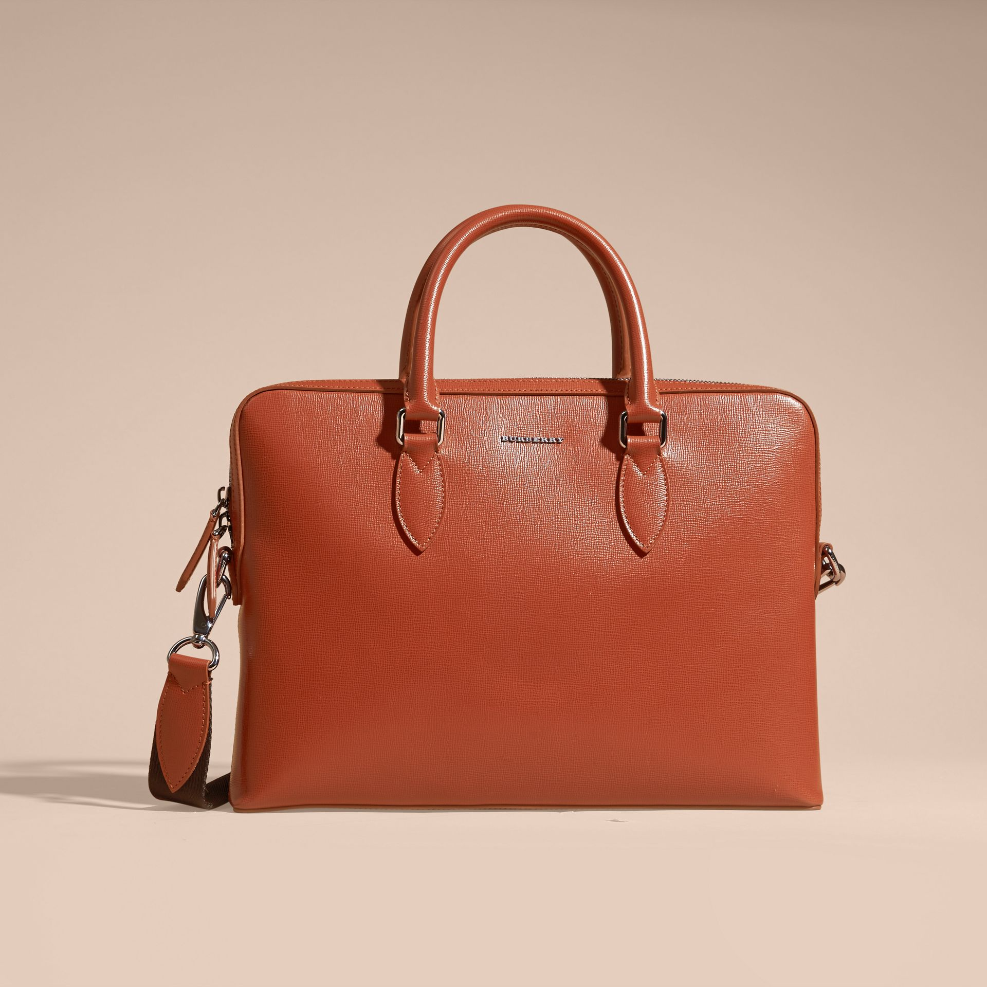 The Slim Barrow in London Leather in Burnt Sienna - gallery image 9