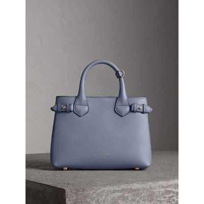 Burberry - Petit sac The Banner en cuir et coton House check - 8