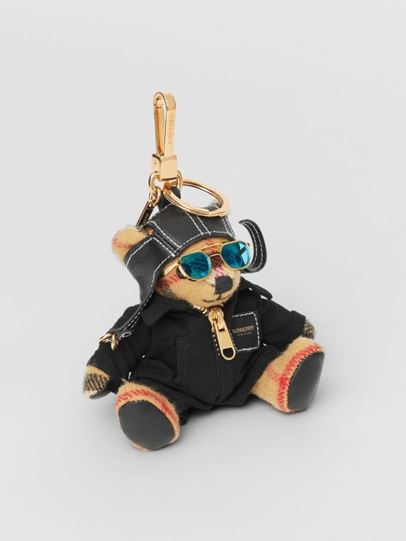 Thomas Bear Charm in Flight Suit in Antique Yellow