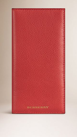 Grainy Leather Card Case