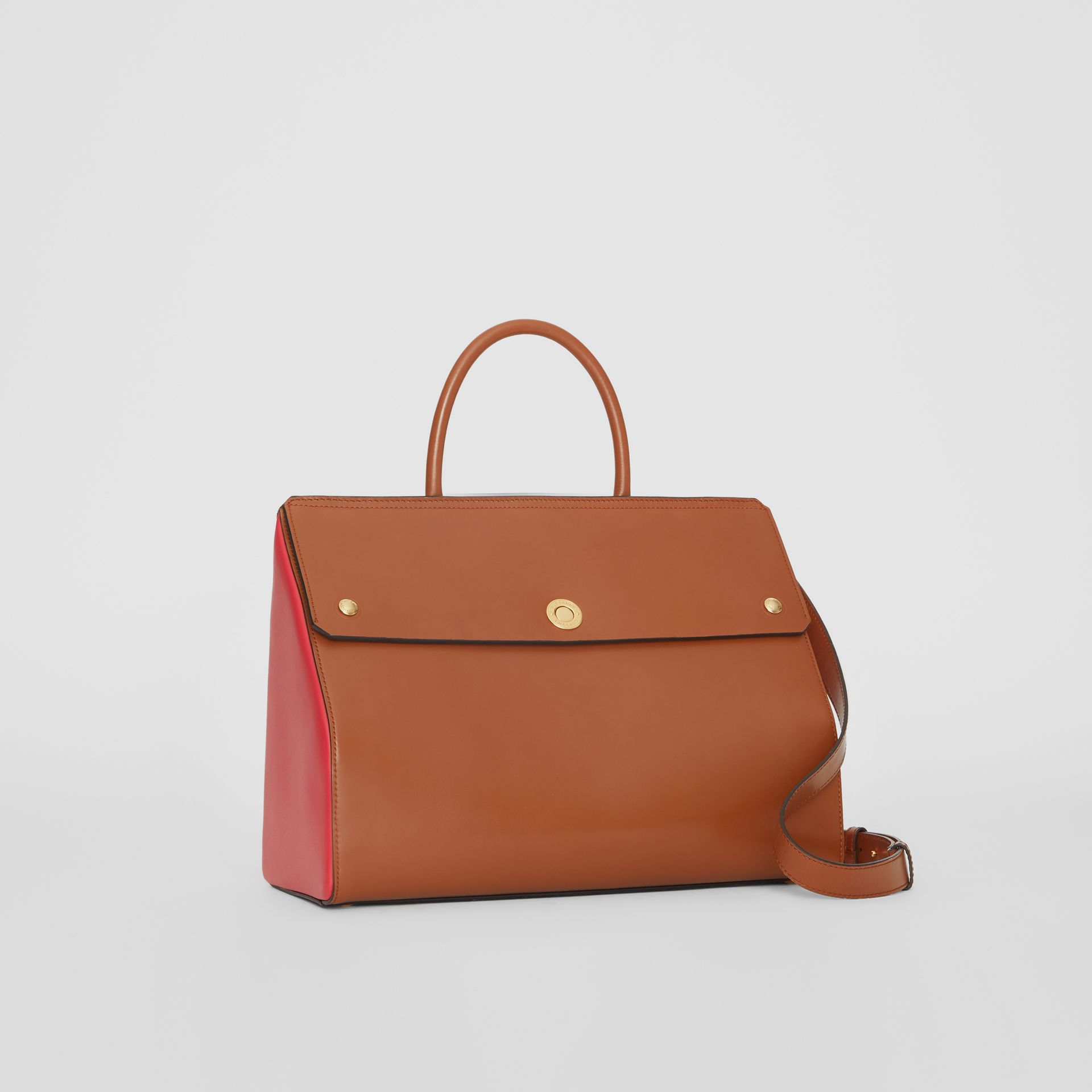 Medium Leather Elizabeth Bag in Malt Brown - Women | Burberry Australia - gallery image 5