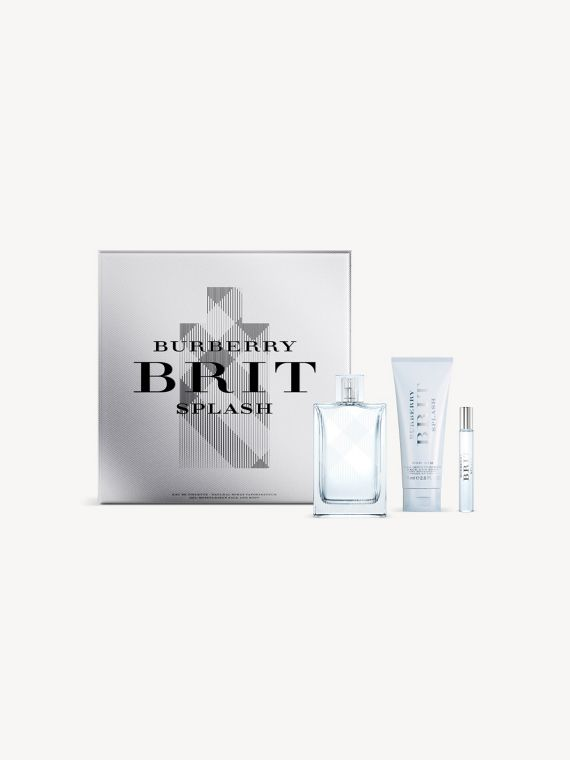 Set di lusso Burberry Brit Splash For Him per le feste
