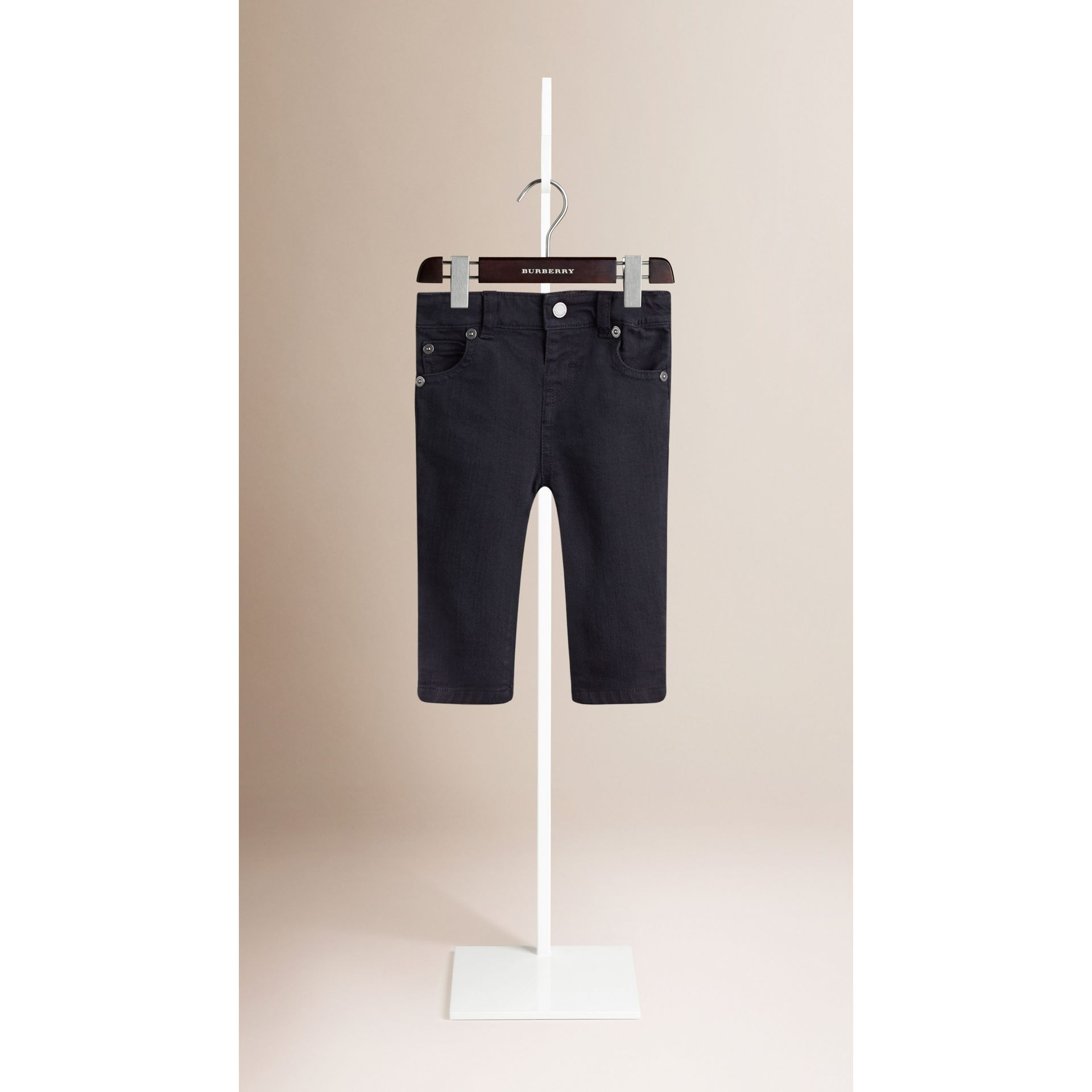 Langston Stretch Denim Jeans - Boy | Burberry - gallery image 1
