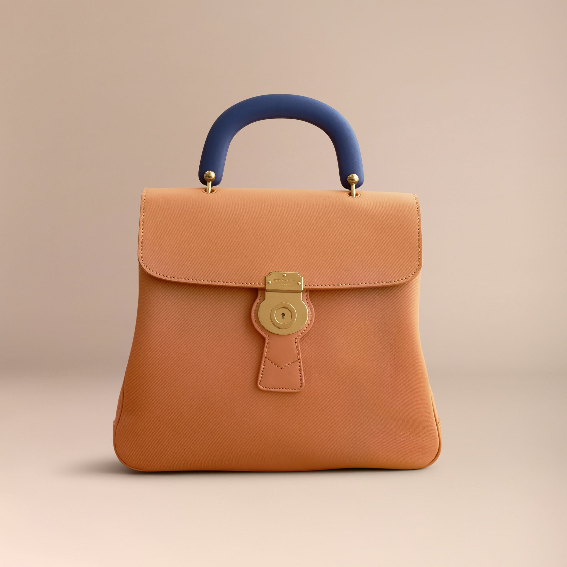The Large DK88 Top Handle Bag Bright Toffee - gallery image 8