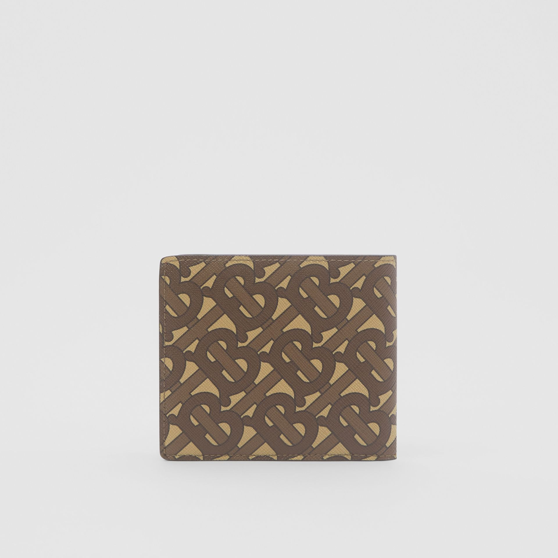 Monogram Print E-canvas International Bifold Wallet in Bridle Brown - Men | Burberry United Kingdom - gallery image 5