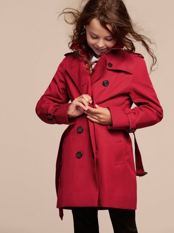 The Sandringham – Heritage Trench Coat in Parade Red - cell image 2