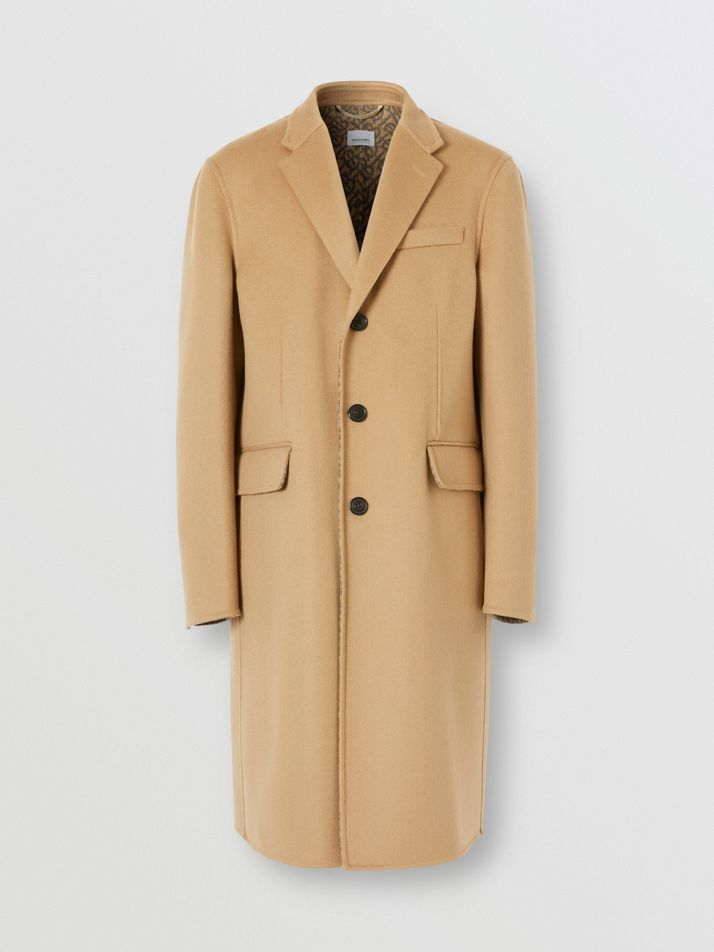 Double-faced Wool Tailored Coat