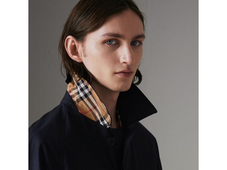 Car Coat The Camden (Bleu Carbone) - Homme | Burberry - cell image 1