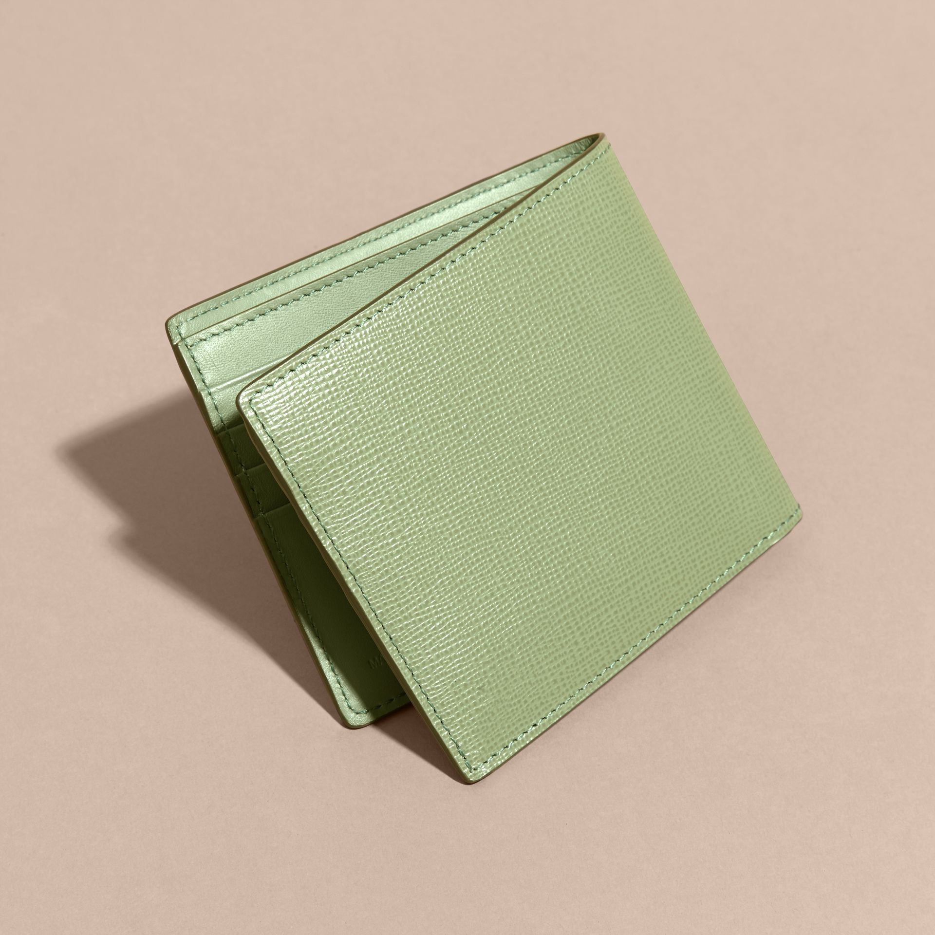 London Leather International Bifold Wallet in Antique Green - gallery image 4
