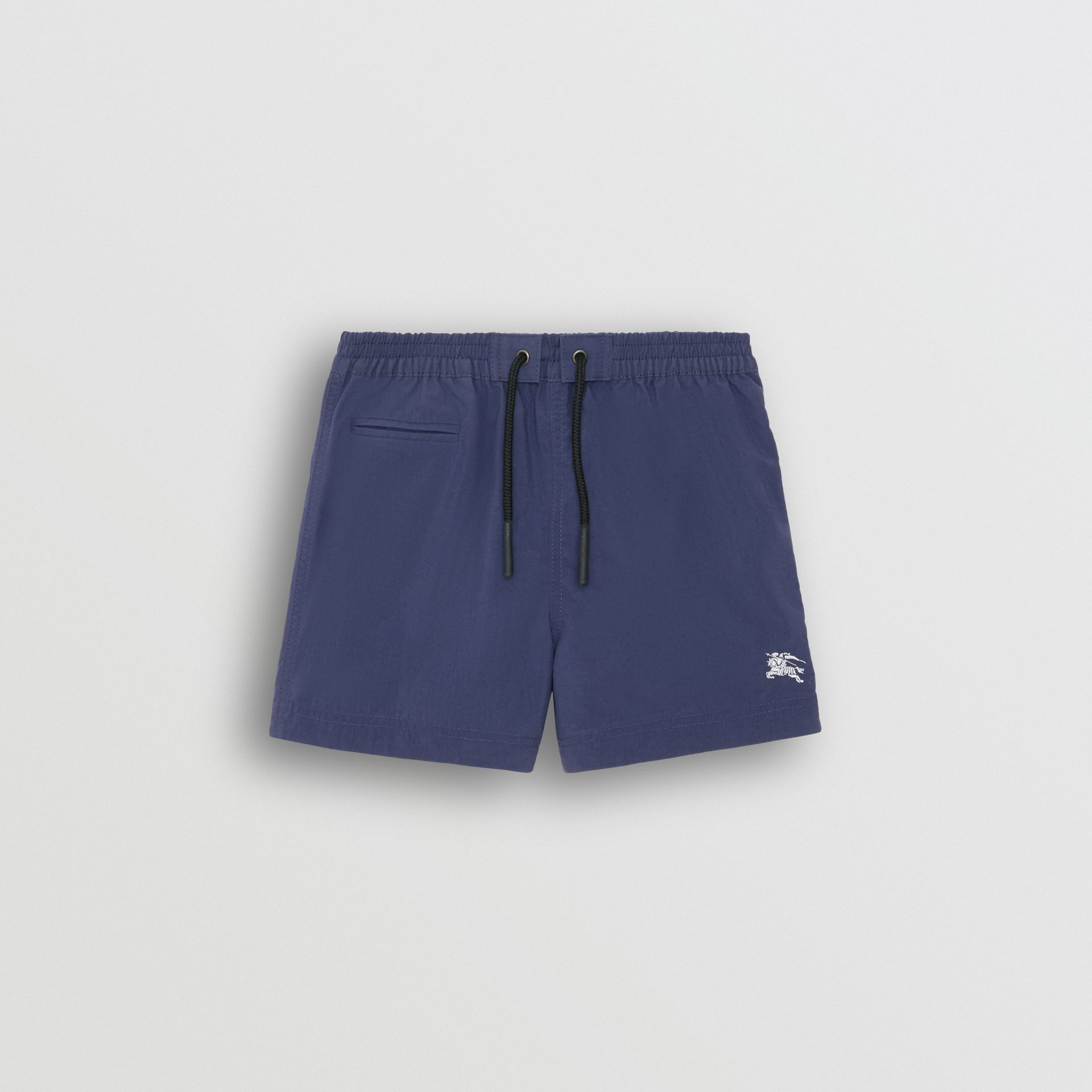 Drawcord Swim Shorts in Indigo - Children | Burberry Singapore - gallery image 0