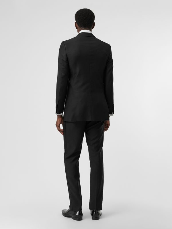 Modern Fit Wool Mohair Tuxedo in Black - Men | Burberry - cell image 2