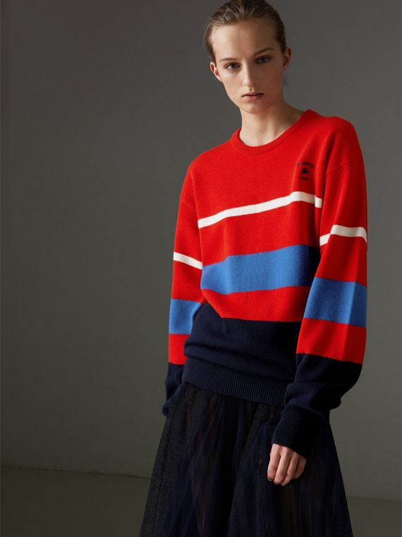 Reissued Lambswool Sweater in Red
