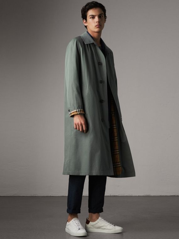 The Brighton – Car Coat 大衣 (淡灰藍色)