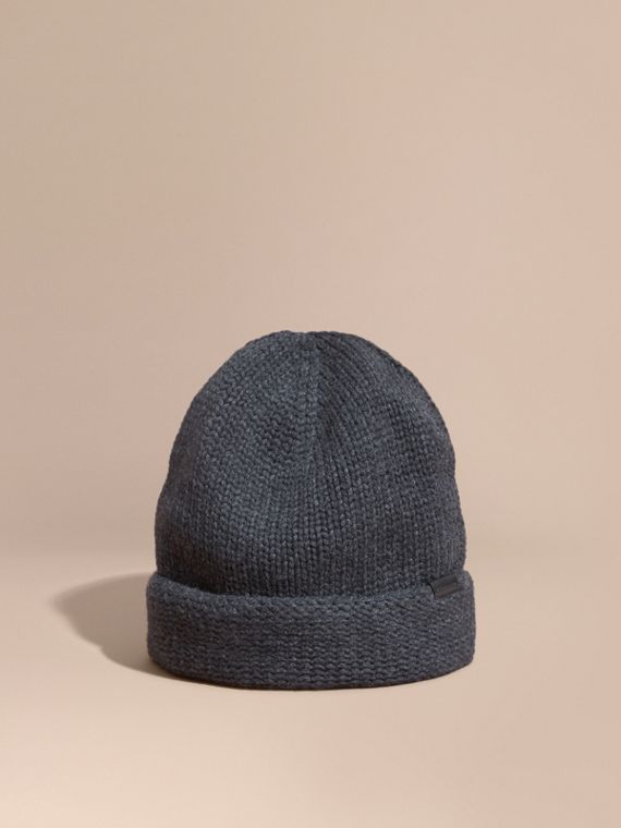 Knitted Cashmere Beanie