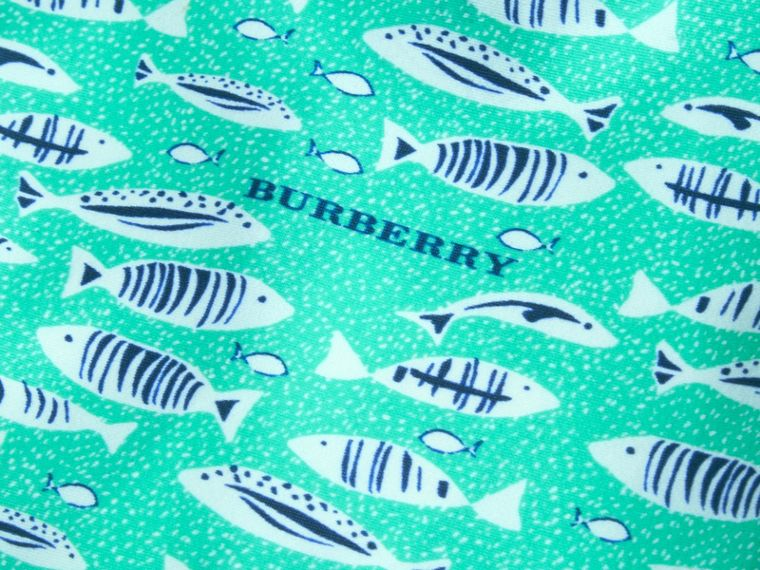 Fish Print Rash Top | Burberry - cell image 1