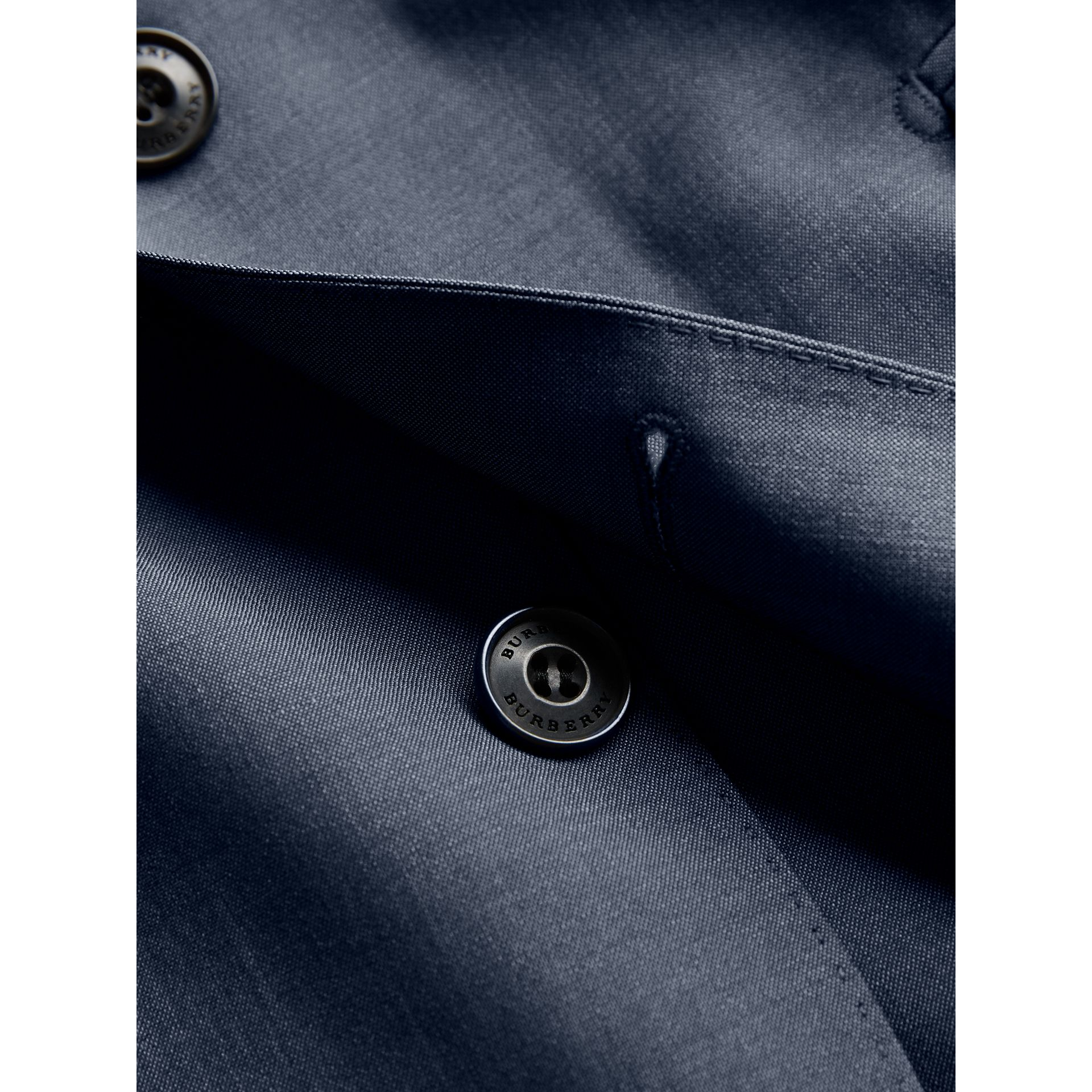 Soho Fit Wool Mohair Suit in Petrol Blue - Men | Burberry - gallery image 2