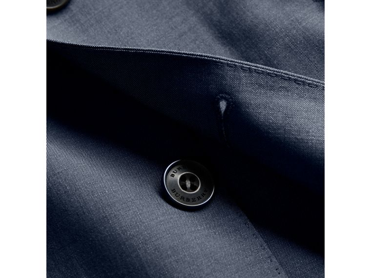 Soho Fit Wool Mohair Suit in Petrol Blue - Men | Burberry Singapore - cell image 1