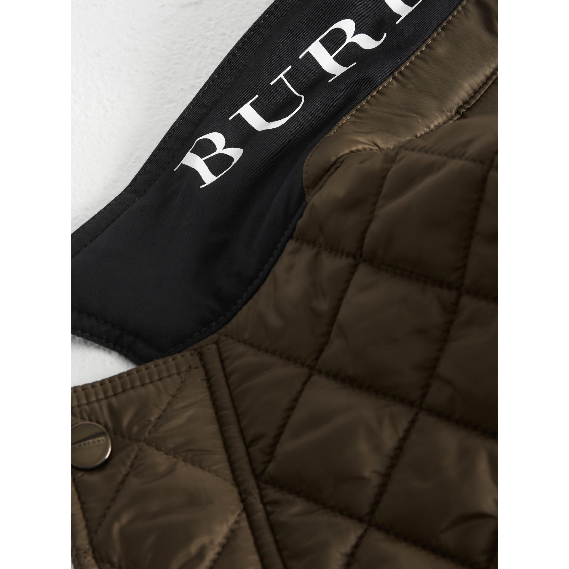 Veste légère matelassée avec capuche amovible (Origan) - Garçon   Burberry Canada - photo de la galerie 1