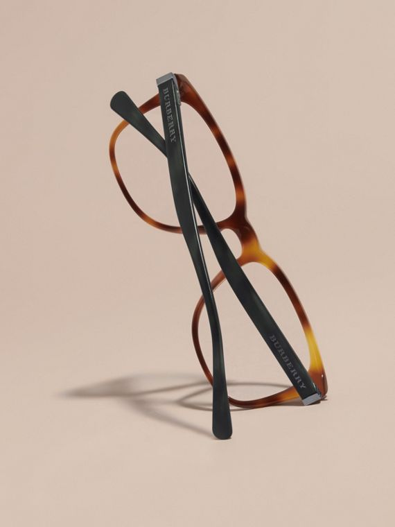 Square Optical Frames Tortoise Shell - cell image 3